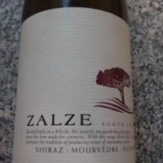 Saturday Snapshot -Kleine Zalze Shiraz Mourvedre Viognier 2011