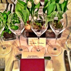 Krug Celebration, the first night… vintage magnums