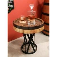 Whiskey Quarter Barrel Coffee Table