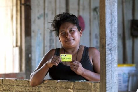 A beneficiary of the Bolsa Familia programme. Credit: Ana Nascimento/Ministério do Desenvolvimento Social e Combate à Fome/Flickr CC 2.0