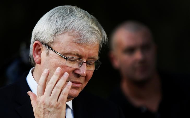 Former Australian PM Kevin Rudd 'qualified' for United Nations top job