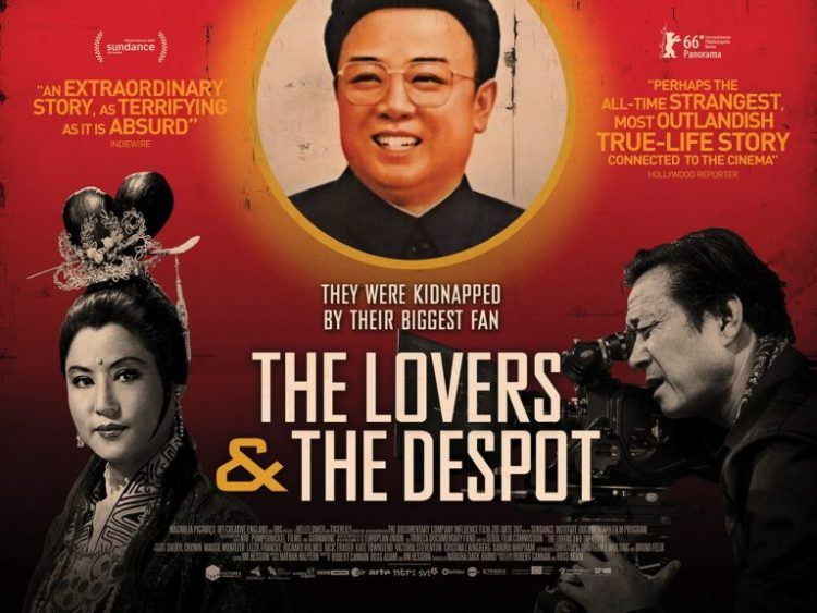 The Lovers and the Despot poster. Credit: