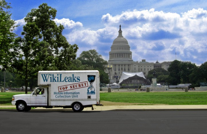 Wikileaks Mobile Information Collection Unit. Credit: Flickr