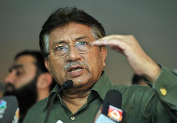 Pakistan's former President Pervez Musharraf speaks during a news conference in Dubai, March 23, 2013. Credit:Reuters