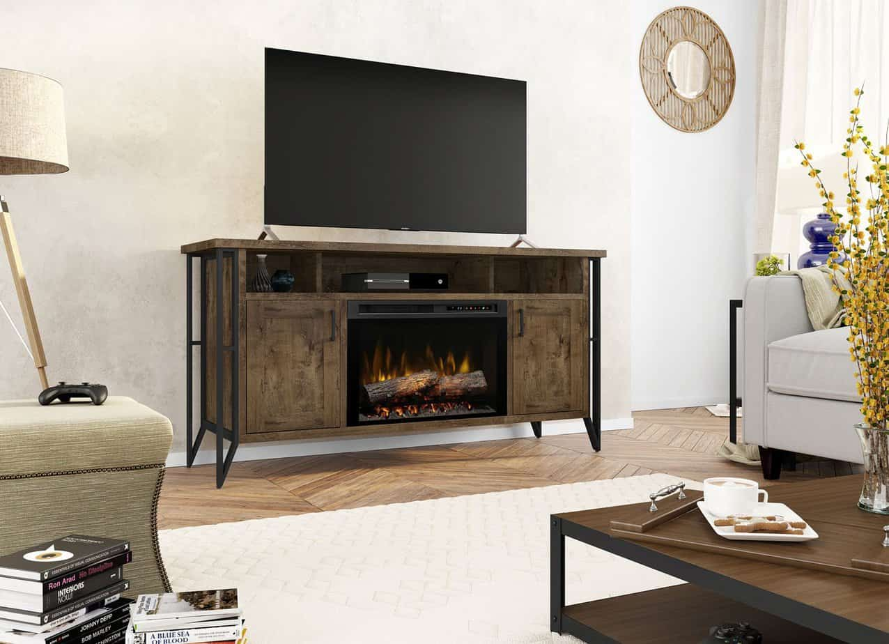 Gas Vs Electric Fireplace Pros And Cons Ultimate Review Of Best Electric Fireplace Tv Stand In 2019