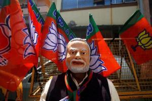 BJP-mcd reuters
