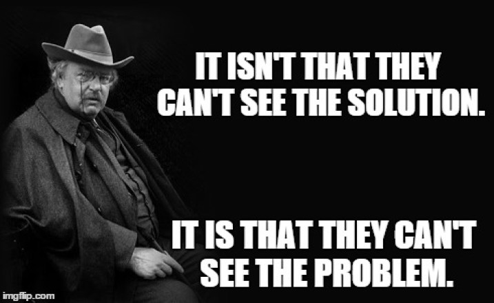 Chesterton meme
