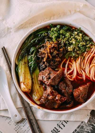 Taiwanese Beef Noodle Soup: In an Instant Pot Or on the Stove
