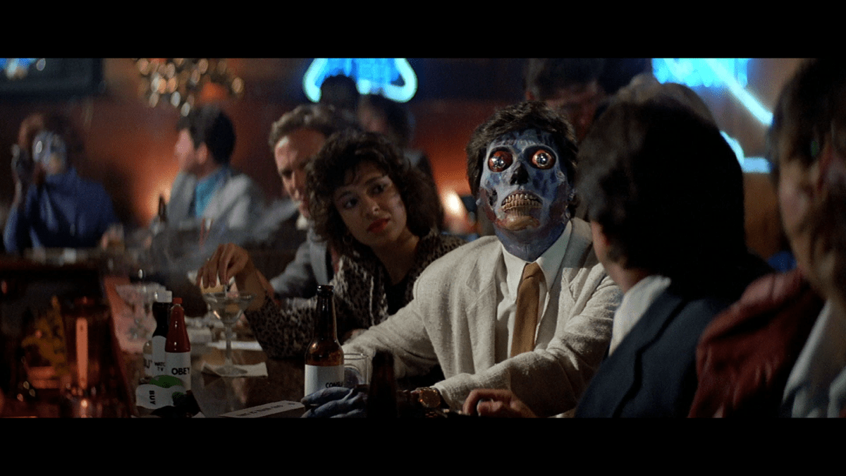 Awesome 3d Art Wallpaper They Live 1988 Review The Wolfman Cometh