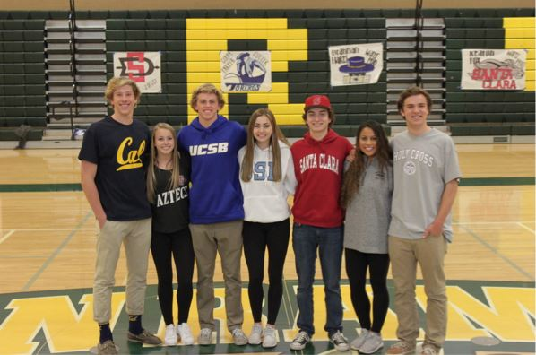SRVHS senior athletes participate in National Letter of Intent