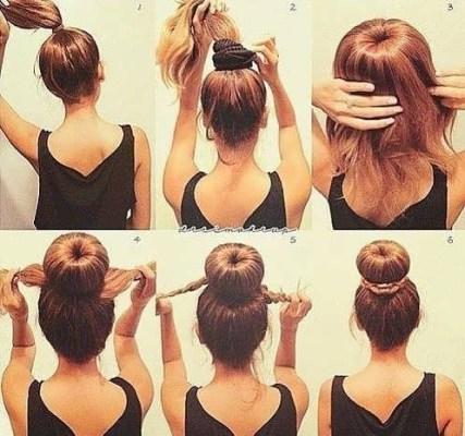 Красивые легкие прически на каждый день на средние волосы
