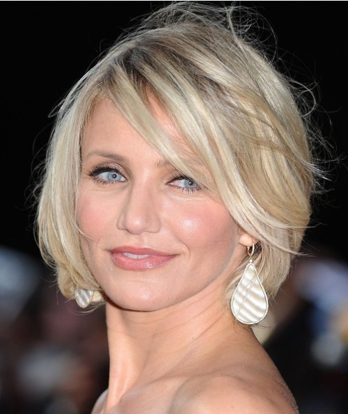 """LONDON, ENGLAND - MAY 22: Cameron Diaz attends the UK premiere of """"What To Expect When You're Expecting"""" at BFI IMAX on May 22, 2012 in London, England. (Photo by Ferdaus Shamim/WireImage)"""