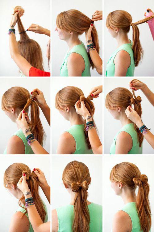 Причёски в школу простые самой себе