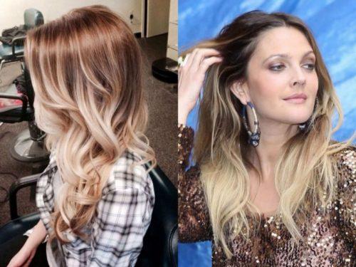 цвет волос модный в 2017 году