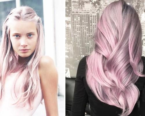 модное светлое окрашивание волос 2017
