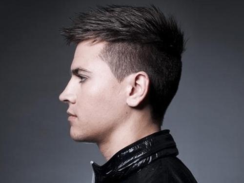Прически на средние волосы для мужчин 2017