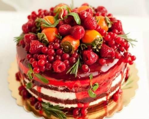 украшение-торта-фруктами-и-ягодами4
