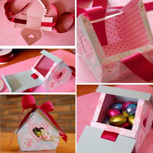 Как сделать своими руками подарочные коробки
