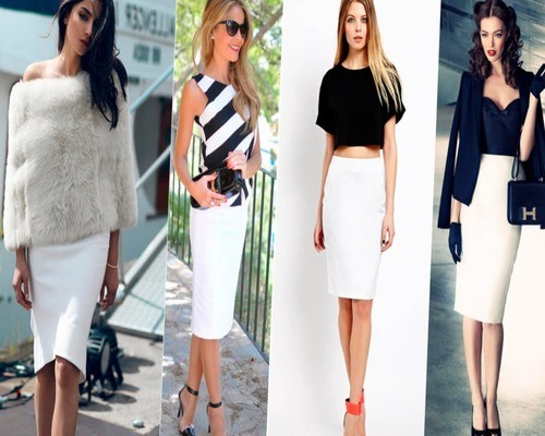 Как просто носить юбку