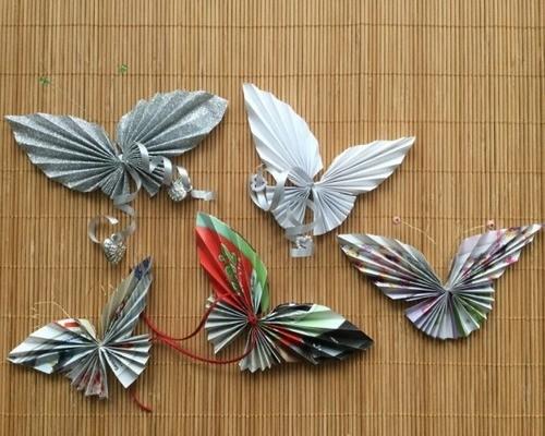 Красивая бабочка из бумаги своими руками
