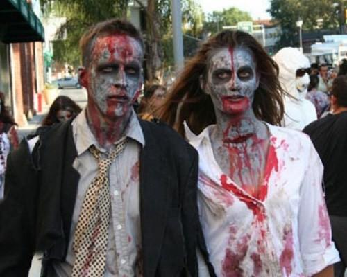 Костюм зомби на хэллоуин своими руками