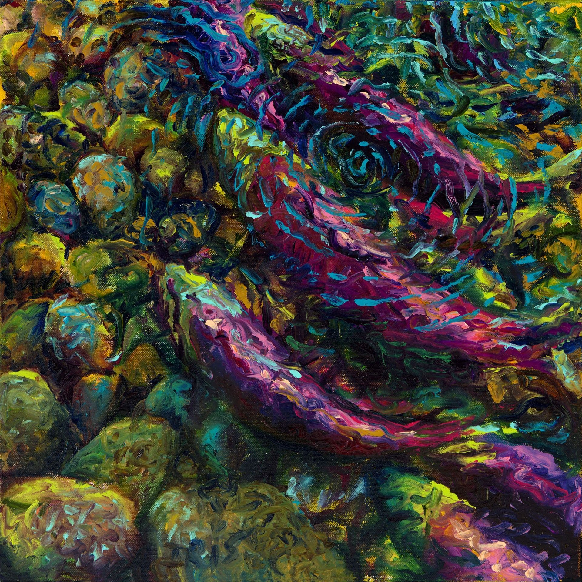 Painting S Incredible Finger Paintings By Iris Scott The Wondrous