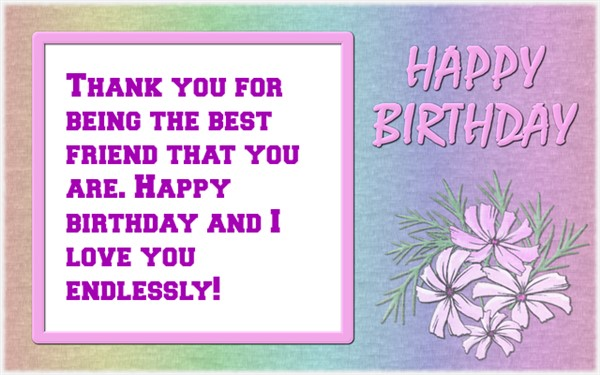 Birthday Wishes for Friends - Happy Birthday Greetings for Friends