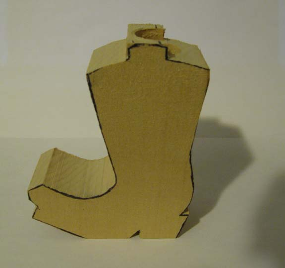 How to Carve a Cowboy Boot - The Woodcarver\u0027s Cabin