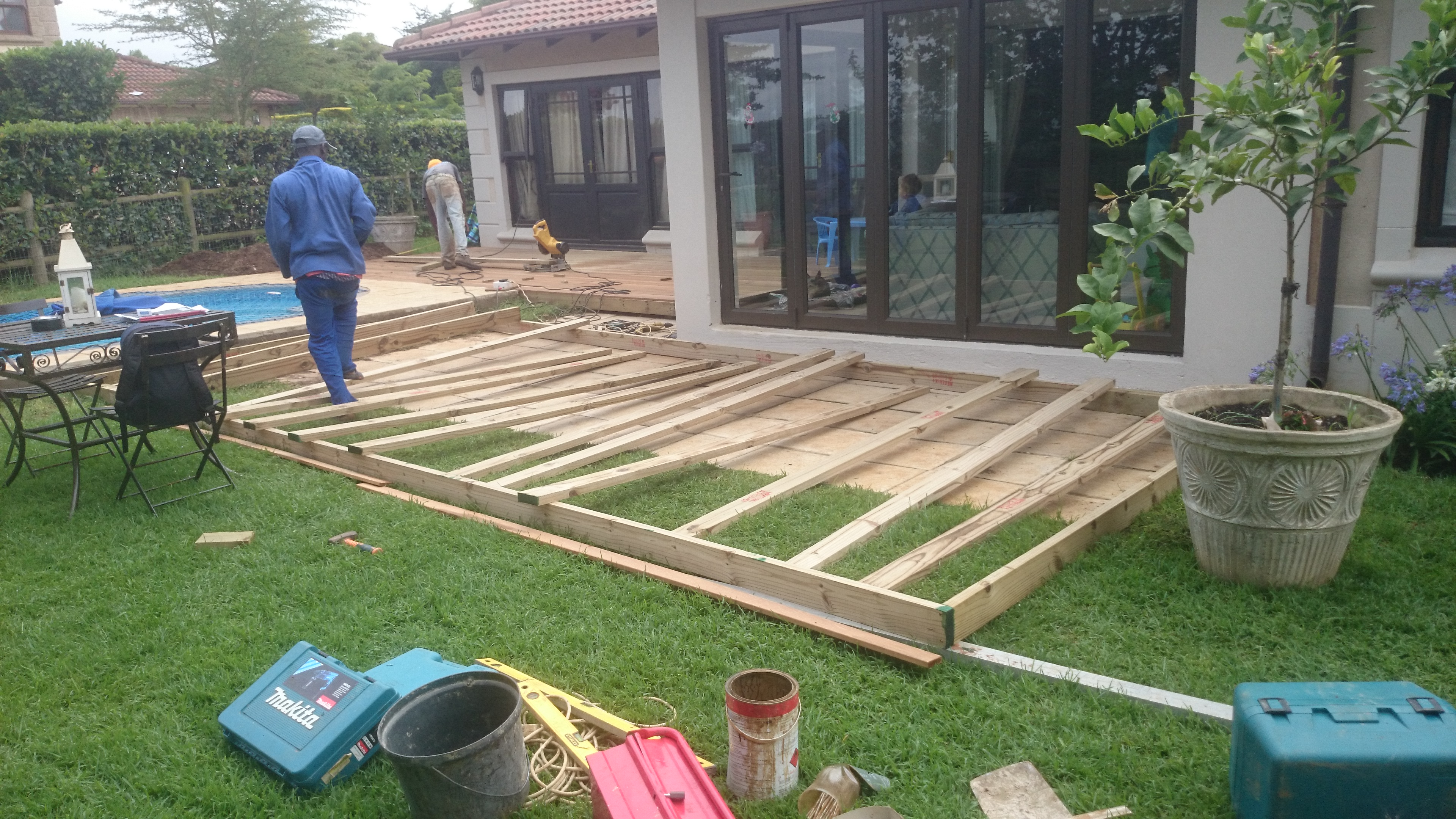 Diy Deck Flooring Diy Timber Decking In Durban The Wood Joint