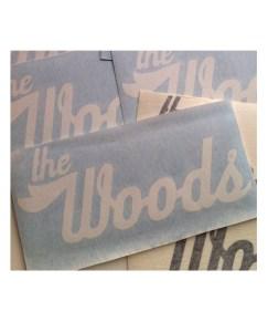 Woods Logo Vinyl
