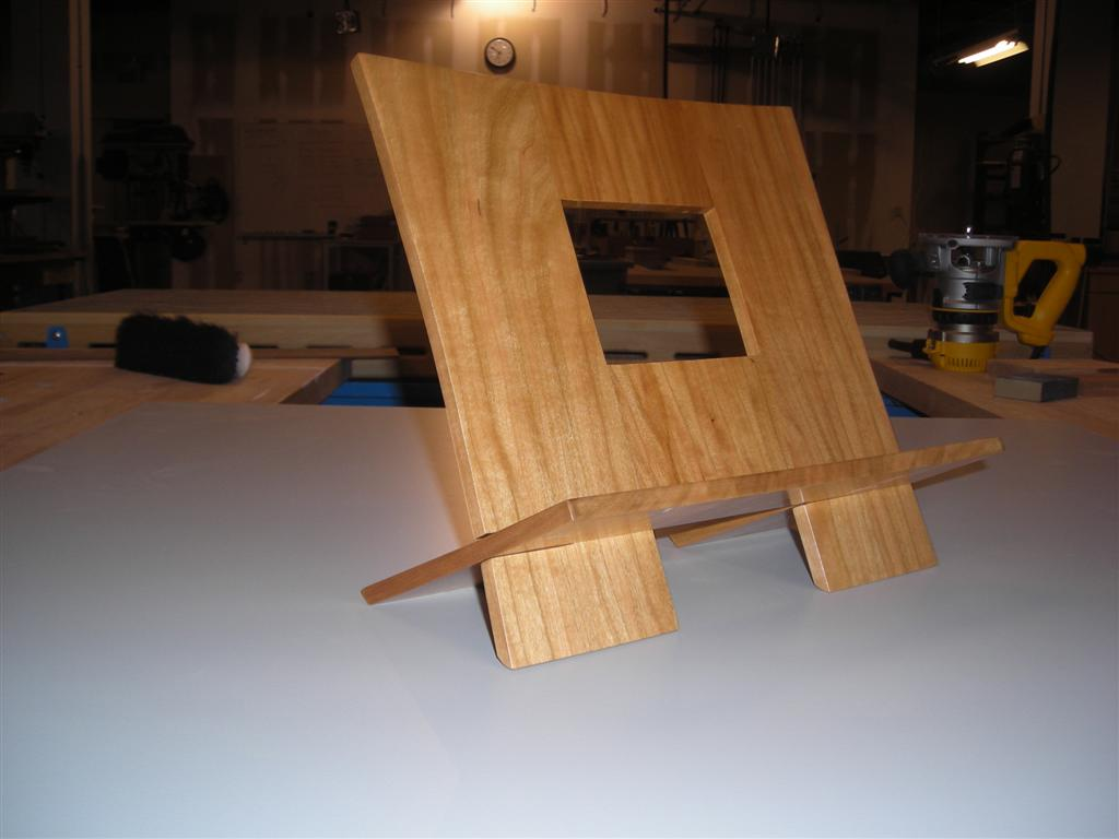 Book Holding Stand Ja Useful Book Stand Plans Woodworking