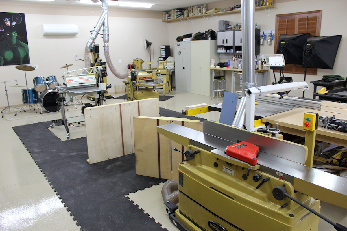 Garage Heater Placement 5 Great Wood Shop Layout Tips For Any Woodworker