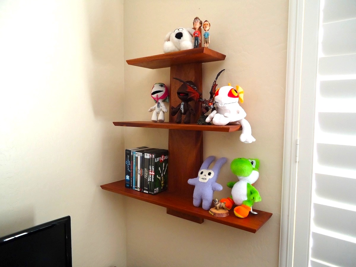 Wall Shelf Design 138 Weekend Wall Shelf The Wood Whisperer
