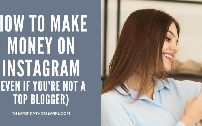 How to Make Money on Instagram (Even If You're Not a Top Blogger)
