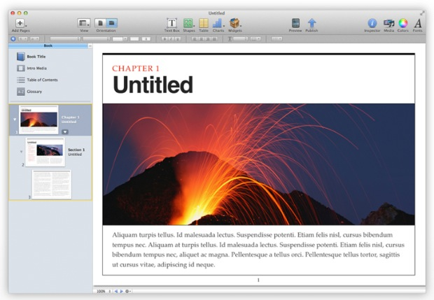 iBooks Author - Apple Introduces Easy eBooks with One Big Condition