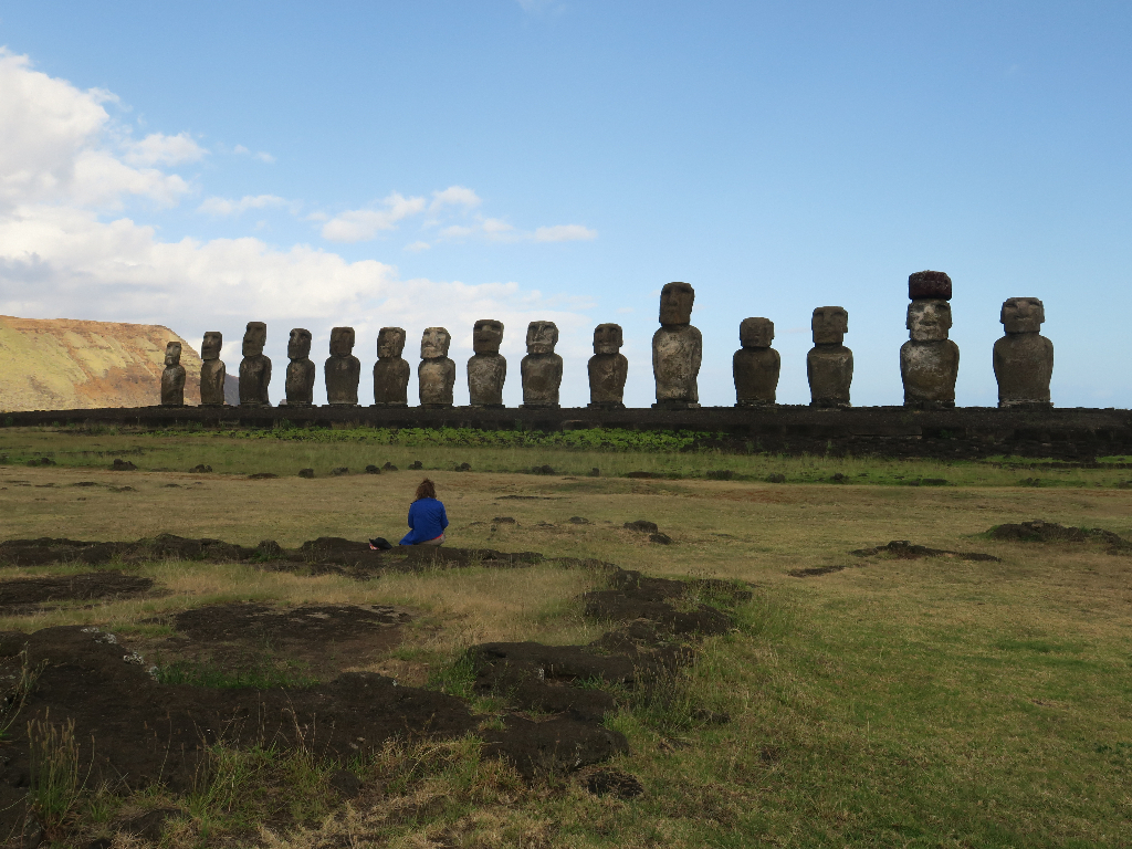 Tongariki island vanuatu Easter Island, Rapa Nui, Hanga Roa, Isla de Pascua, Chile, South America