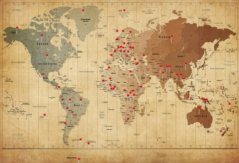 Map with Pins for Website
