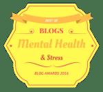 Mental Health And Stress Badge