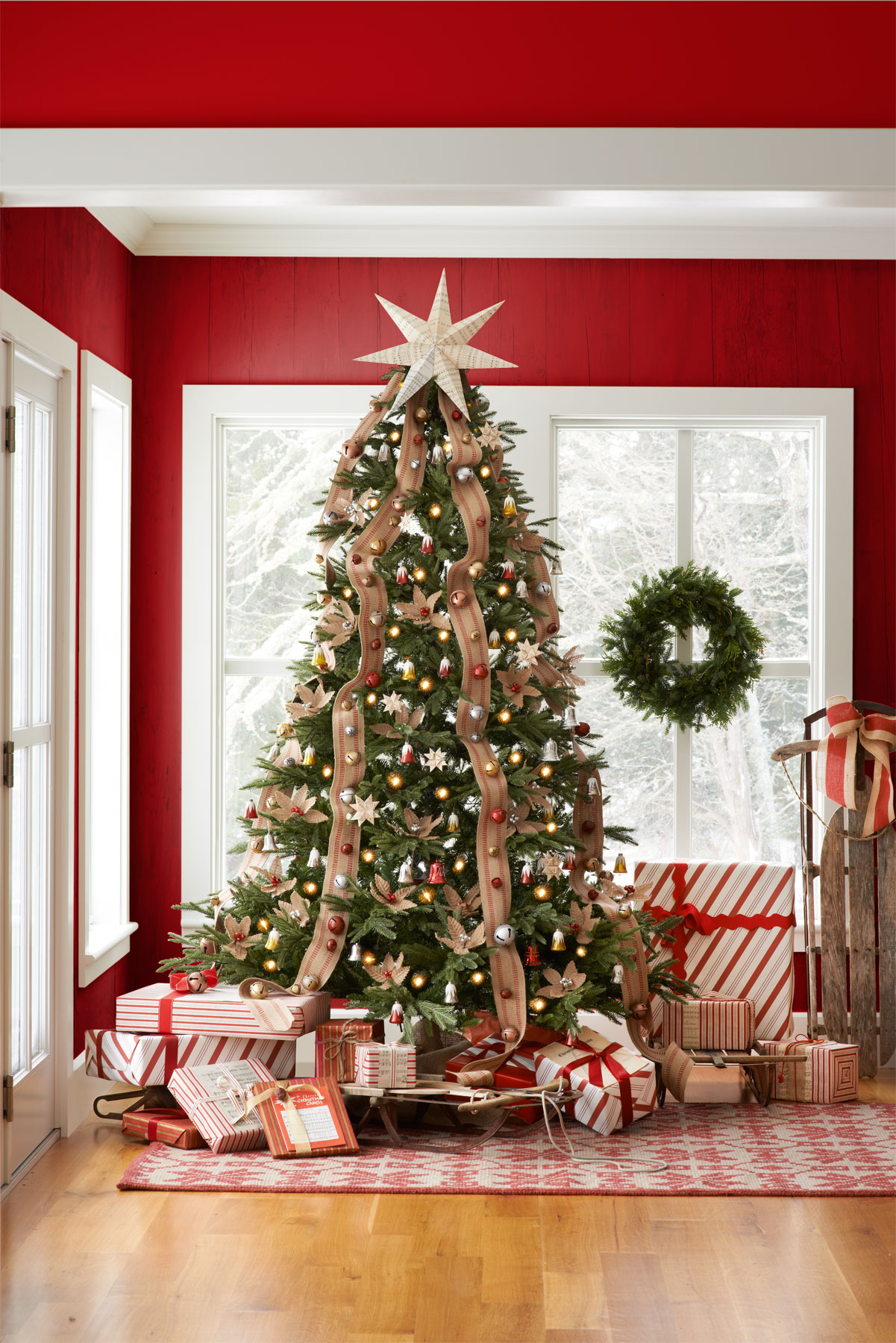Christmas Tables Decorated 30 Best Decorated Christmas Trees 2017