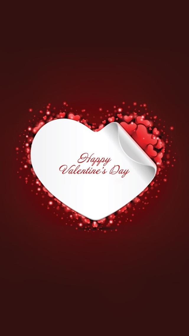 Stylish Wallpaper Heart Valentine's Day Wallpaper For Iphone – The Wow Style