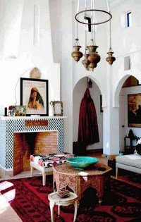 25 Modern Moroccan Style Living Room Design Ideas