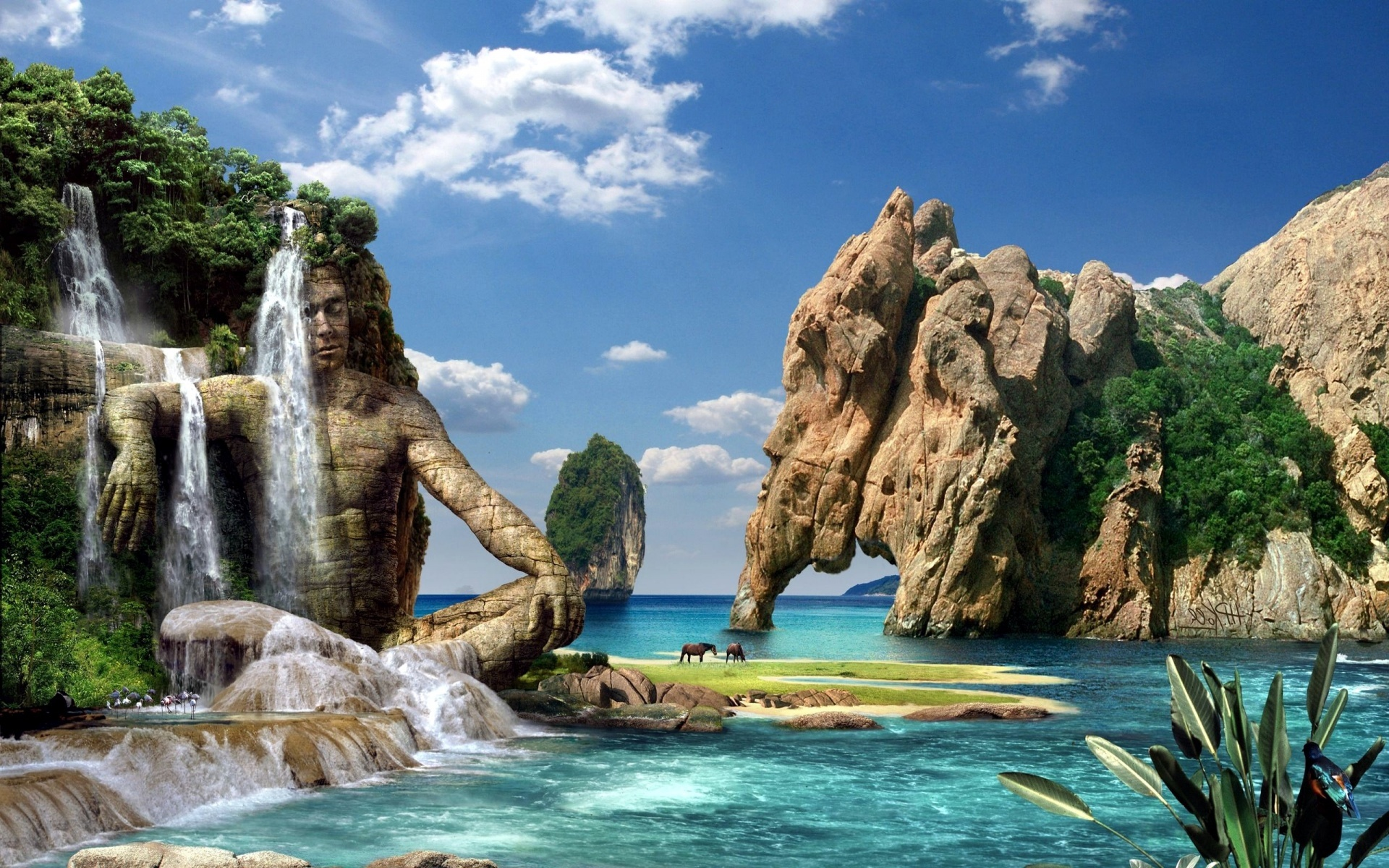 3d Money Wallpaper Beautiful Waterfall Pictures And Wallpapers