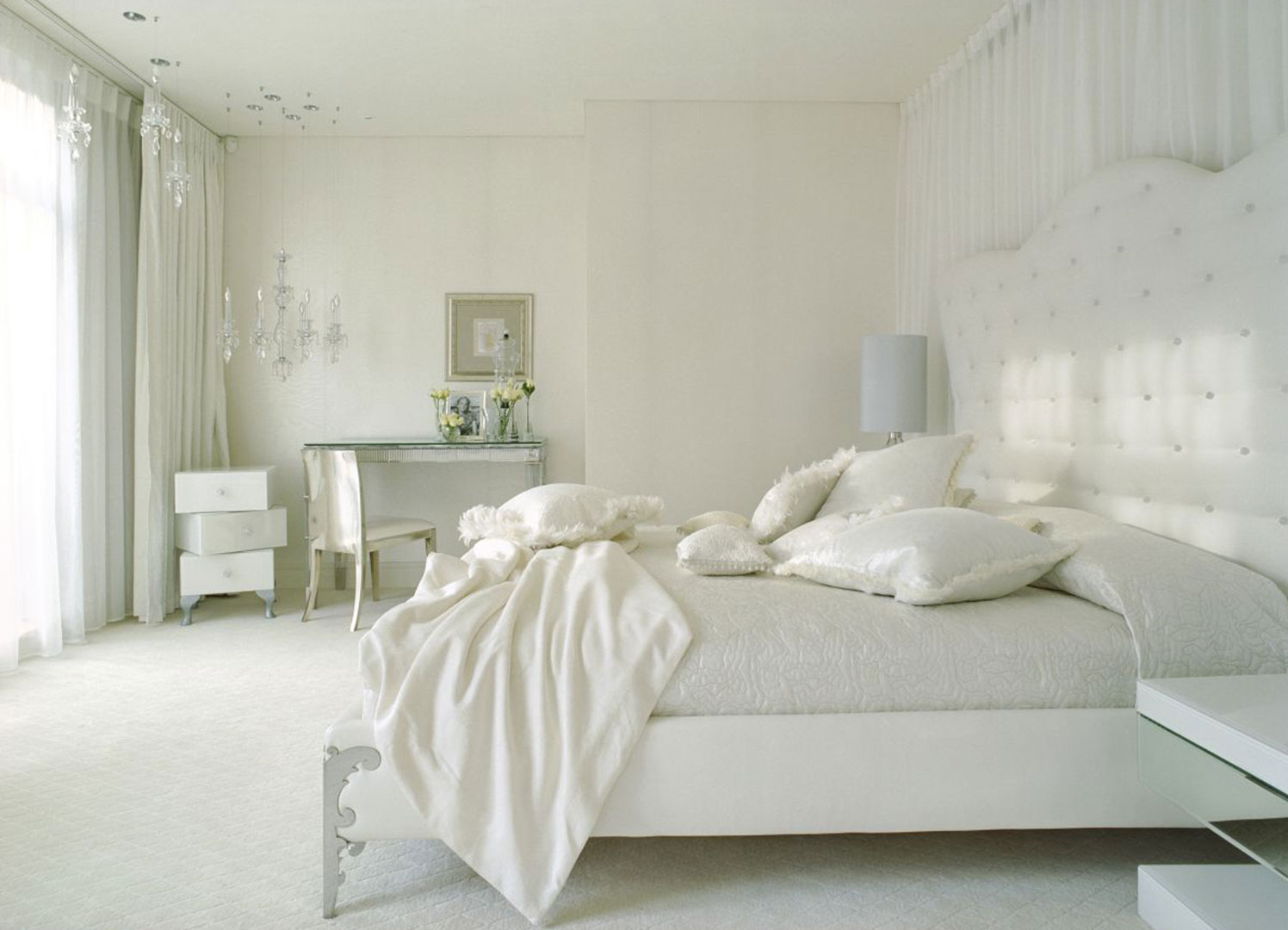 Bedroom Decor With White Furniture 30 White Bedroom Ideas For Your Home