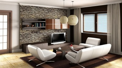 30 Best Living Room Wallpaper Ideas