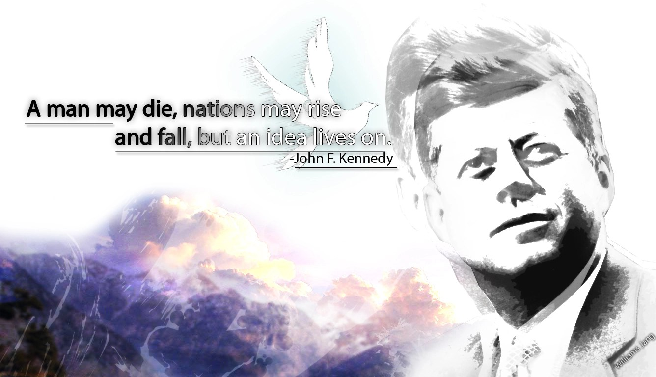 Jfk Quotes Wallpapers 25 Best John F Kennedy Quotes