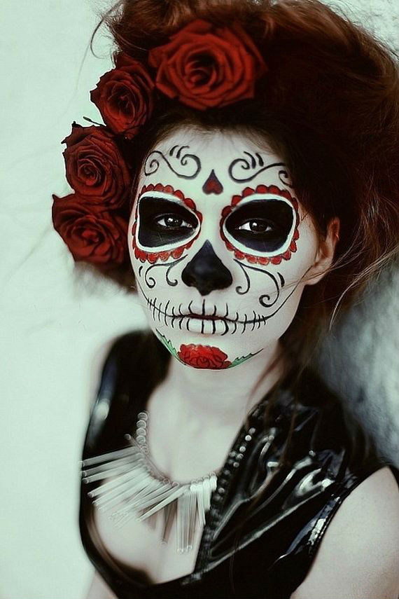 Easy Female Hairstyles Scariest Halloween Makeup For Day Of The Dead – The Wow Style