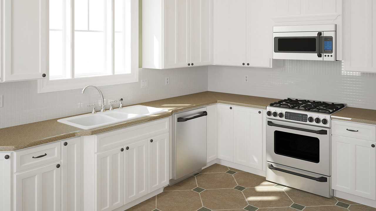Mustard Color Paint For Kitchen Should You Stain Or Paint Your Kitchen Cabinets For A Change In
