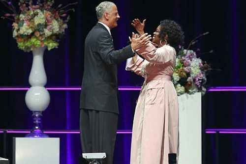 I put on my Party Panties for Oprah in Vancouver