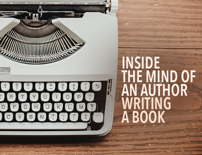 Inside the Mind of an Author Writing a Book
