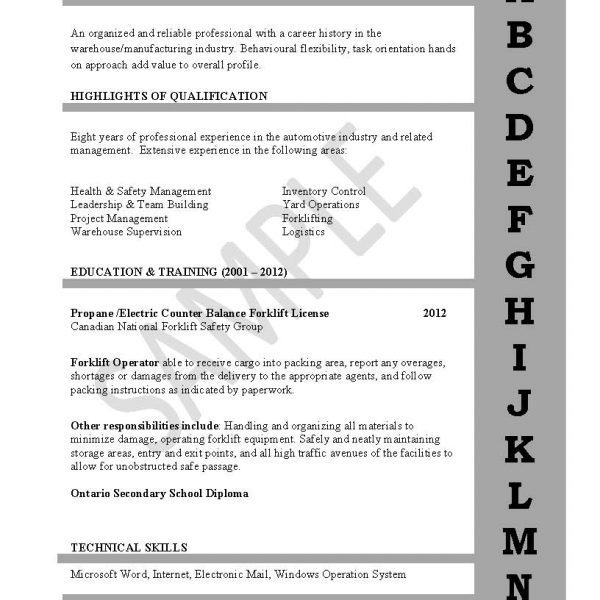 Entry Level Resume  Cover Letter \u2013 The Writology